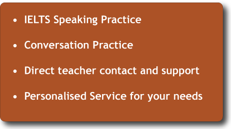Online Speaking Lessons